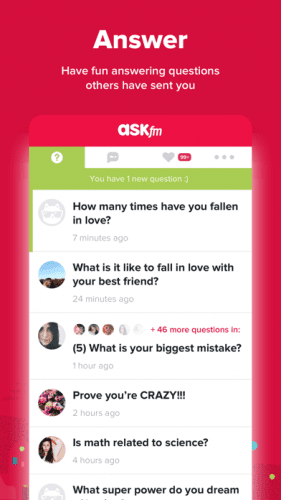 ASKfm: Ask Questions & Answer 2